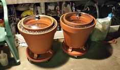 A Practical Zeer Pot (evaporative Cooler / Non-electrical Refrigerator): 7 Steps (with Pictures) Evaporative Cooler, Going Off The Grid, Eco Buildings, Ice Houses, Sand And Water, Urban Survival, Earthship, Terracotta Pots, Green Life