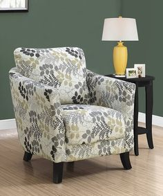shop for pisano chenille fabric armless contemporary accent chair