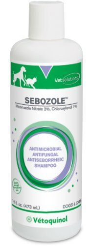"Vetoquinol 411608 Sebozoleâ""¢ Shampoo,16 oz -- Trust me, this is great! Click the image. : Cat Grooming"