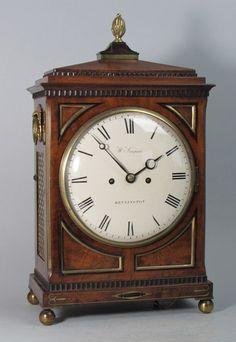 A Regency bracket clock