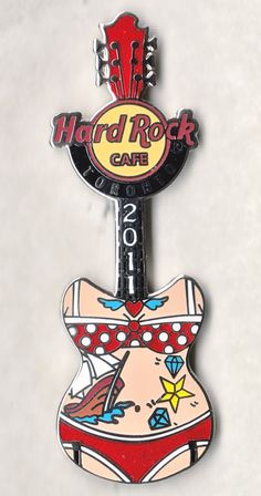 Guitar Pins, Hard Rock, Toronto, Hard Rock Music
