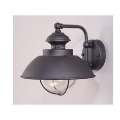 Industrial light (would look great in a bathroom!)