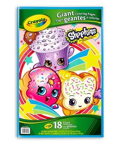 Shopkins™ Giant Coloring Pages Coloring Book