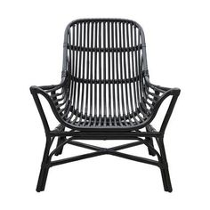 Awesome Colony rattan lounge chair from House Doctor. Combine this chair with your favorite House Doctor furniture. Black Rattan Chair, Rattan Armchair, Rattan Furniture, Furniture Decor, Furniture Design, Rattan Chairs, Bar Chairs, Modern Armchair, Chair Cushions