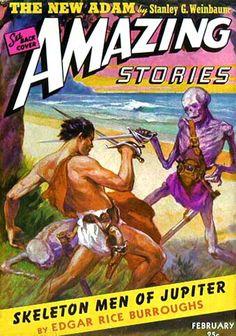 Amazing Stories - Skeleton Men of Jupiter