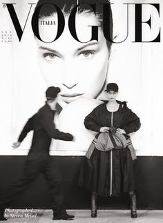 "neid-invidia: "" Bella Hadid photographed by Steven Meisel for Vogue Italia September 2016 "" Vogue Editorial, Editorial Fashion, Steven Meisel, Vogue Magazine Covers, Vogue Covers, Moda Vintage, Vintage Vogue, Bella Hadid, Fashion Cover"