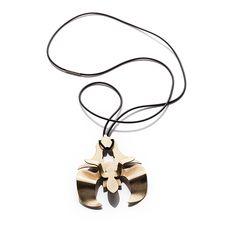 #jewellery #jewels #jewelry #necklace #gold #floral #design #style #fashion buy www.aleksandraprzybysz.pl