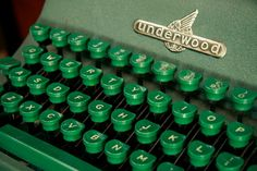 1950s Military Green Underwood Universal