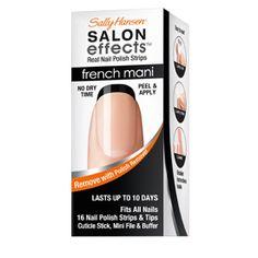Sally Hansen   Salon Effects French Mani. Black tip