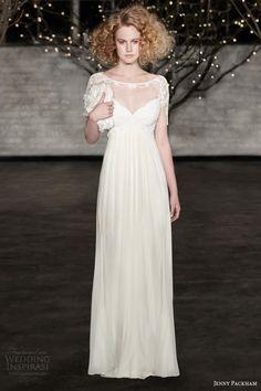 jenny packham bridal spring 2014 genevieve wedding dress