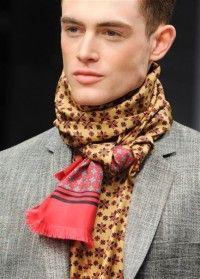 Men Scarf, Men's Scarves, Lightweight Scarf, Haberdashery, Keep Warm, Scarf Styles, Classic Looks, Shawls, Knots