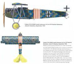 Fokker D.VIIF Friedrich Noltenius