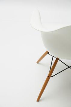 Vitra DAW Eames Plastic Armchair (http://www.nest.co.uk/product/vitra-daw-eames-plastic-armchair) via * wit + delight