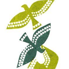 Debbie Powell illustration on print & pattern. Stamp Printing, Screen Printing, Printing On Fabric, Stamp Carving, Handmade Stamps, Linoprint, Tampons, Linocut Prints, Grafik Design
