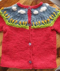 Spring Picnic Cardi by DayanaKnits #knit #free_pattern