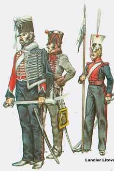 Russian hussars and lancer Imperial Army, Imperial Russia, Napoleon Russia, Army Costume, Crimean War, Army Uniform, Napoleonic Wars, Soviet Union, American Civil War