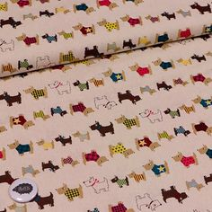 Perros con pijama - Fondo Crudo