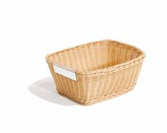 communityplaythings.com - G483 Deep Basket  I would LOVE a set of these (and the shallow ones, too).  While I love real wicker, these baskets are sturdy and never crack to expose sharp edges.  The few that we have in our classroom are just fabulous.