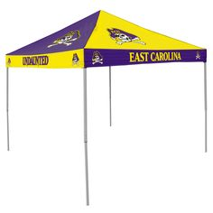 NCAA East Carolina Pirates Chckrbrd Tent