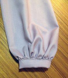 Sewing the fashion elements - The Bishop Sleeve Sewing Blogs, Sewing Projects, Bishop Sleeve, Blouse Dress, Hippie Boho, Boho Shorts, Boho Fashion, Style Inspiration, My Style