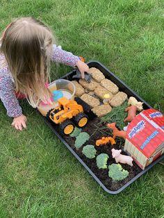 Nursery Crafts, Nursery Activities, Toddler Learning Activities, Easter Activities, Spring Activities, Farm Animal Toys, Farm Toys, Tuff Tray Ideas Toddlers, Transportation Crafts