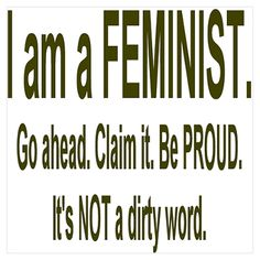 be proud that you stand for human equality!