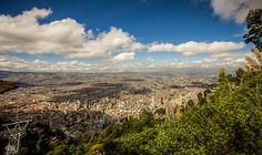 What a view - Bogota, Colombia