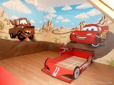 Maters et Flash McQueen