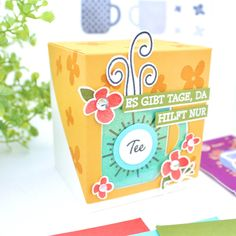 Flipping, 10 Top, Stampin Up, Diy And Crafts, Container, Jade, Curry, Boxes, Crates
