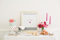 hot-pink-black-and-white-party-ideas-12