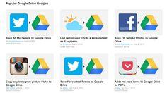 Ifttt incorpora a Google Drive a su repertorio de canales http://www.genbeta.com/p/71324