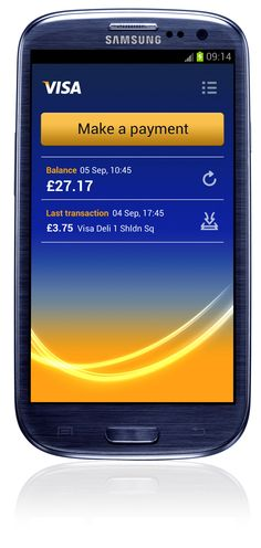 Visa Samsung SIII mobile payment GBP Samsung, Future, Phone, Core Values, Future Tense, Telephone, Mobile Phones