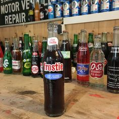 Vintage Diet Frostie soda bottle full
