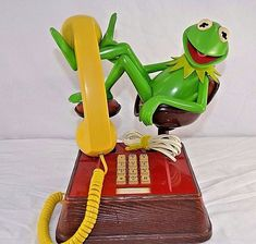 Vtg. Kermit the Frog Phone 1983 Jim Henson Push Button | Collectibles, Animation Art & Characters, Animation Characters | eBay!