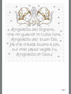 Angeli preghiera