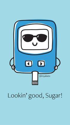 Diabetes Wallpaper - Lookin' Good Sugar Diabetes Bag, Diabetes Memes, Type One Diabetes, Paula Deen, Chronic Kidney Disease, Chronic Illness, Diabetes Supplies, Diabetic Breakfast, Diabetes Treatment