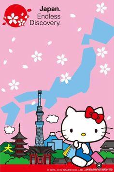.Hello Kitty. Descubriendo mundo.