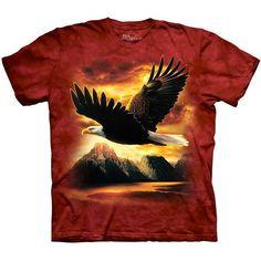 The Mountain American Bald EAGLE T-SHIRT USA America Patriotic ~ Size Small NEW! #eagle #baldeagle #eagleshirt