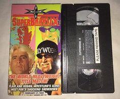 WCW Superbrawl IX '99 (VHS, 1999) NWO WWF WWE HULK HOGAN RIC FLAIR RARE