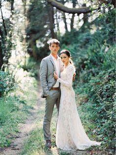 spanish lace wedding inspiration