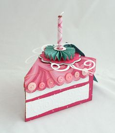 Cake Slice Box cricut sweet tooth