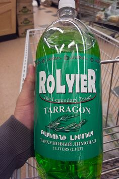 Rolyier Armenian Soda Pop. The herb is native to these regions.