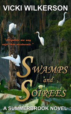 My cover for Swamps and Soirees!