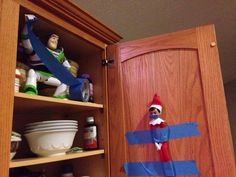 Elf on the Shelf is so creepy!