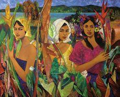 Hermes Alegre - Philippine Artist Filipino Art, Filipino Culture, Philippine Art, Figurative Kunst, Mystique, Famous Artists, Artist Painting, Beautiful Paintings, Contemporary Artists