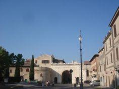 Arco di Augusto - Roman gate to the city of Fano - Italy