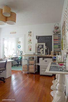 New Craft Room Office Space