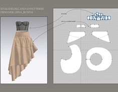 3d Pattern, Pattern Making, Pattern Design, Fashion Terms, 3d Fashion, Fashion Design, Fashion Drawing Tutorial, Cloth Patterns, Long Dress Design