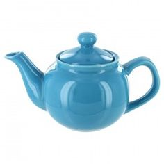 English Tea Store Brand 2 Cup Teapot - Light Blue Gloss Finish (also available in 6-cup size) http://www.englishteastore.com/ets-2-cup-teapot-light-blue.html