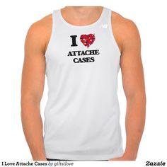 I Love Attache Cases Tshirts Tank Tops